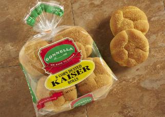 Corn Dusted Kaiser Rolls Gonnella Baking Co