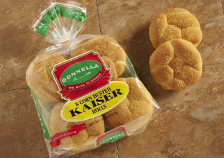 Corn Dusted Kaiser Rolls Gonnella Baking Co